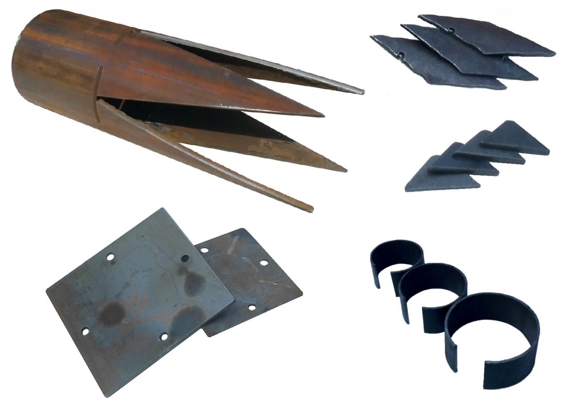 Комплектующие для изготовления винтовых свай