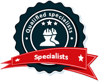 Qualified specialists, professional teams.